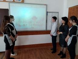 Информация  о классных часах, проведенных  в МКОУ «СОШ №3» с.п. Сармаково  к 18 марта