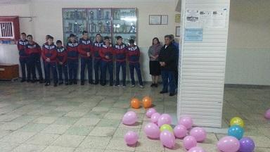 26 февраля команда по мини-футболу отправилась в г.  Ейск